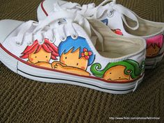 I used to paint and sell kids tennis shoes!