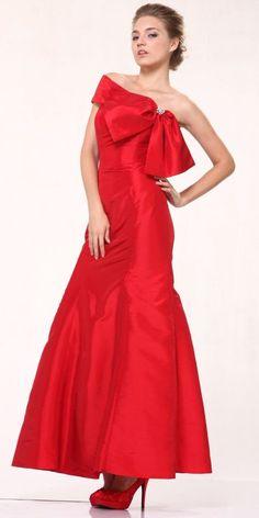 Red Taffeta Dress Hot Stuff