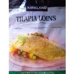 Kirkland Tilapia Loins--perfect for fish tacos!  They're frozen, but have amazing texture and no fishy/muddy taste!