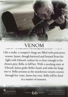 #TwilightSaga #Twilight - Venom #66
