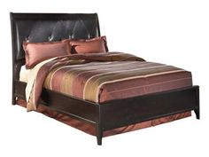 Shop for Signature Design Queen Platform Bed, G48321, and other Bedroom Beds at Kittle's Furniture in Indiana and Ohio. The attractive build of this handsome bed effortlessly provides both function and style for an essential addition.  The smooth combination of this bed leaves you less to worry about in your designated place of tranquility.