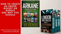 Great ideas and tips! :) How To Create An Ebook Boxset Or Bundle And Why You Should