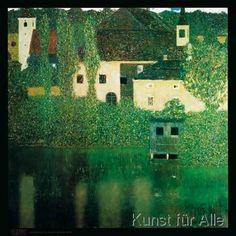 Gustav Klimt - Castello al lago