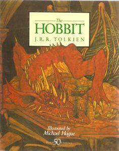 The Hobbit. Illustrated by Michael Hague. U.K. Unwin Paperbacks, 1987.