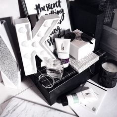 A somewhat organised mess  new @herbanicaoriginal to add to my skin care routine  by kristywho