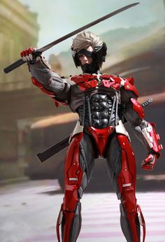 Metal Gear Rising: Revengeance - Inferno Armor Raiden | Optimistic X