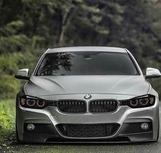 BMW F32 4 series grey slammed