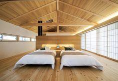 Japanese modern bedroom