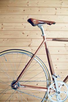 Dots plywood bike