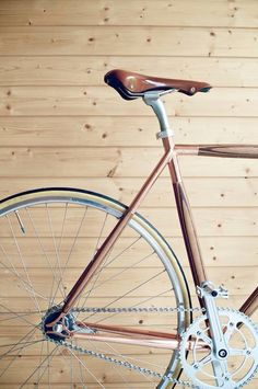 Dots plywood bike