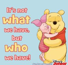 Winnie the Pooh! Tigger And Pooh, Cute Winnie The Pooh, Winnie The Pooh Quotes, Winnie The Pooh Friends, Pooh Bear, Eeyore, Piglet Quotes, Pomes, Mickey Mouse