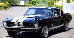 Test Driving a True 1967 Mustang Shelby GT500