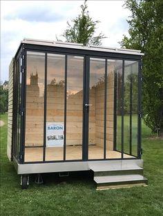 Backyard Cabin, Small Backyard Patio, Backyard Sheds, Pergola Patio, Loft Design, Home Office Design, House Design, Art Studio Room, Garden Pods