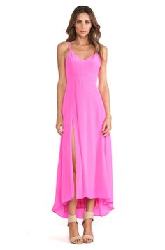 Line & Dot Grace Cami Dress in Fuchsia  http://www.bernabrown.com/producto/grace-cami-dress/