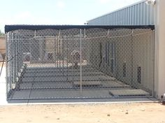 Shipping Container Kennel