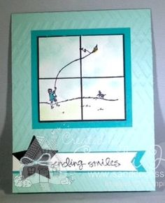 Happy Home, Zig Zag embossing folder, Greatest Greetings, Stampin'Up!, sandi hartka