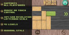 Woblox ...  blocks, game, gaming, green, html, html5, html5 games, mobile game, puzzle, puzzle game, slideblock, sliding puzzle, unblock