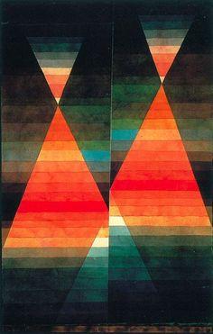 Paul Klee, Double Tent, 1923