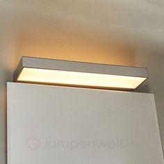 Schöne LED-Chrom-Badwandlampe Rubena sicher & bequem online bestellen bei Lampenwelt.de.