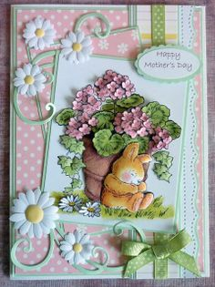 A Scrapjourney: Mother's Day Card