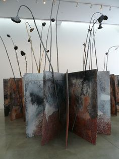 Standing Books by Anselm Kiefer  Photo taken by Catheadsix on Flickr