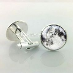 -Pair-Free-Shipping-Full-moon-cufflinks-Man-cuff-links-men-cufflinks-high-quality-wedding-cufflinks