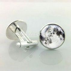 -Pair-Free-Shipping-Full-moon-cufflinks-Man-cuff-links-men-cufflinks-high-quality-wedding-cufflinks