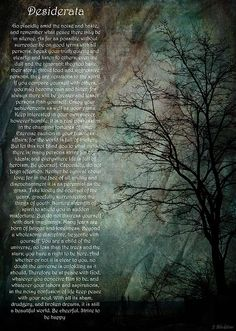 Desiderata of Happiness - Vintage Art by Jordan Blackstone. Fine art prints and posters for sale. #jordanblackstone #desiderata #vintageart