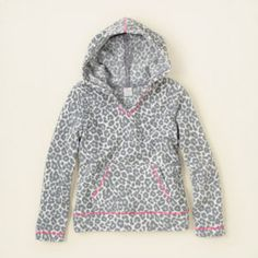 animal print fleece hoodie, childrensplace.com #bigbabybasketsweeps