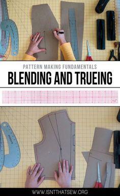 Pattern Making Fundamentals: Blending and Trueing