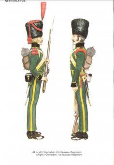 """Granatieri del 1 e del Reggimento """"Nassau"""""""