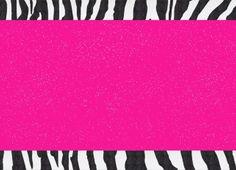Pink and zebra templates free powerpoint template about animals hot pink zebra glitter animal print paper that can be used as a template background banner paper scrapbooking and more hot pink zebra glitter template toneelgroepblik Gallery