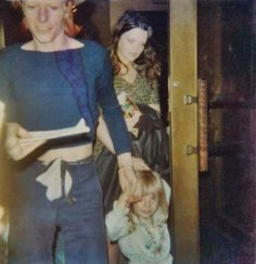 """David Bowie with his son """"Zowie"""" Bowie (now Duncan Jones) 70s. David was a loving dad to both of his children."""