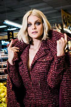 Jessica Stam for Harper's Bazaar Russia October 2014