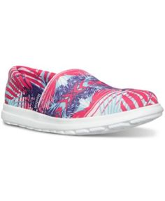 6690069484f Reebok Women s Skyscape Harmony Print Walking Sneakers from Finish Line  Shoes - Finish Line Athletic Sneakers - Macy s