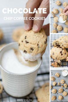 Chocolate Chip Coffee Cookies zum Kaffee - Rezept / ein Kaffeevollautomat im Test