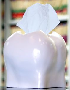 Cute! Crescent introduces tooth shaped tissue dispenser - DentistryIQ