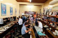 Sisto & Nino - at the Pellegrini's Espresso Bar, Melbourne