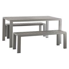 WILLSDEN Grey garden table and 2 benches set  sc 1 st  Pinterest & Buy Bondi Bench Set from the Next UK online shop | Garden furniture ...
