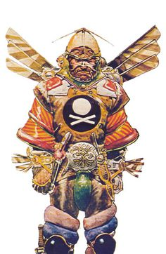 concept art by Moebius, for Jodorowsky's Dune Character Concept, Character Art, Concept Art, Character Design, Jean Giraud, Jodorowsky's Dune, Dune Film, Dune Characters, Manado