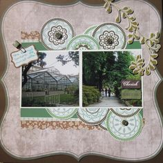 Prague-botanical gardens - Scrapbook.com
