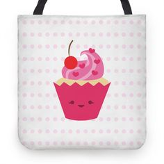 Check out the Fun With Food Collection for fun reusable items like this Cupcake Tote!