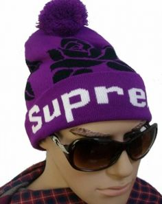 814ee8b85e9 Supreme Rose Bonnet Pourpre   Casquette Pas Cher