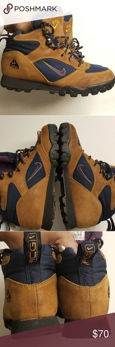 6dbe050a786820 1998 Nike ACG womens sz8 hiking boot vintage rare From 1998. So I collect  uncommon