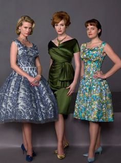 Girls from Mad Men. El 7 de abril vuelve esa pedazo de serie :)