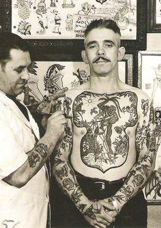Inspiration, should I ever get tattoos ~ Old Man Fancy.