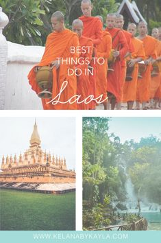 Best things to do in Laos for a first timer - Kelana by Kayla