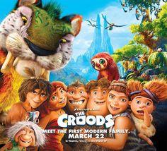 """""""Los Croods"""" una para niños que pronto se estrenará en el cine de Huetor tajar"""