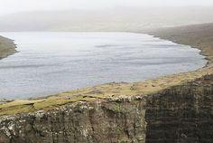 Hiking Up To The Edge Of The Faroe Islands: Lake Sørvágsvatn