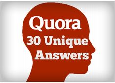 I'll answer 30 relevant questions (relevant to your website niche) which will contribute to the answer Quality of answers is not super high quality and sometimes will not be 100% gramatical correct. You'll see few or more upvotes to your answers within a week. - The answers are usually of 30+ words and will stay permanent. - And link to your URL At Home Workout Plan, At Home Workouts, Christmas Activities, Book Activities, Amazon Work From Home, Flirty Texts For Him, Lifestyle Magazin, Remove Unwanted Facial Hair, Accounting Jobs